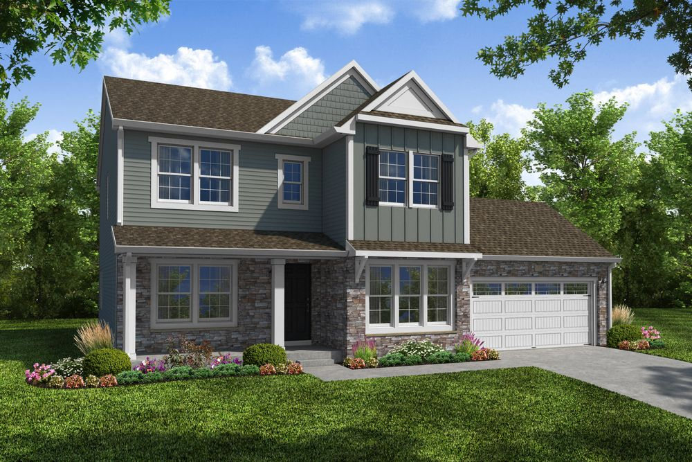 Traditions 2300 Home Plan By Allen Edwin Homes In Huntmore Estates
