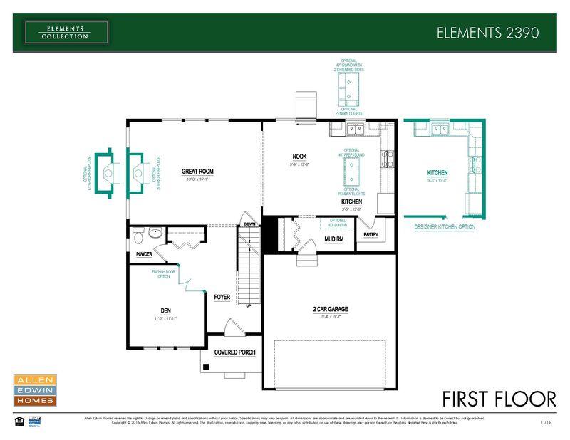 Allen Edwin Floor Plans: Elements 2390 Home Plan By Allen Edwin Homes In Trail