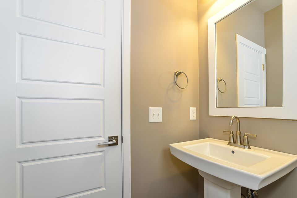 Bathroom featured in the Elements 2390 By Allen Edwin Homes in South Bend, IN