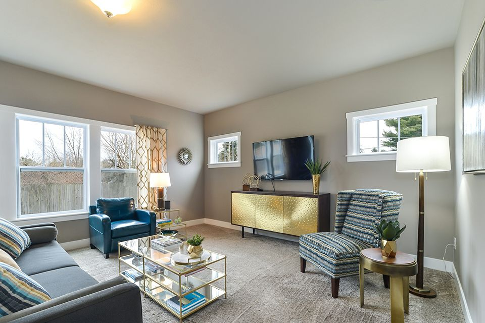 Living Area featured in the Elements 2390 By Allen Edwin Homes in South Bend, IN