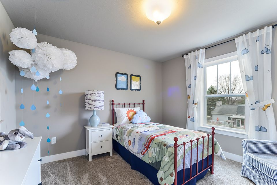 Bedroom featured in the Elements 2390 By Allen Edwin Homes in South Bend, IN