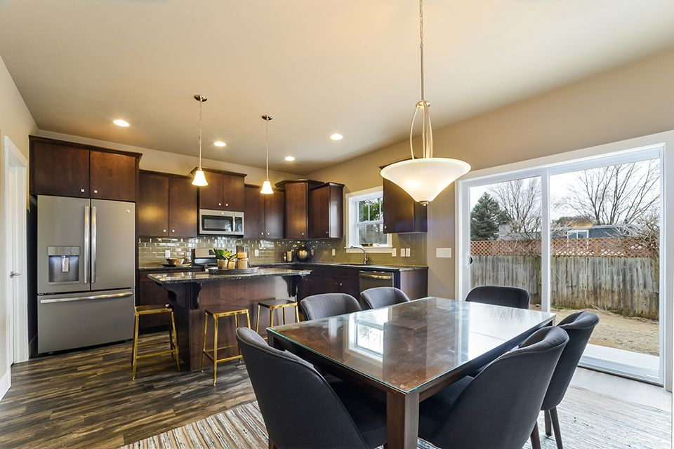 Kitchen featured in the Elements 2390 By Allen Edwin Homes in South Bend, IN