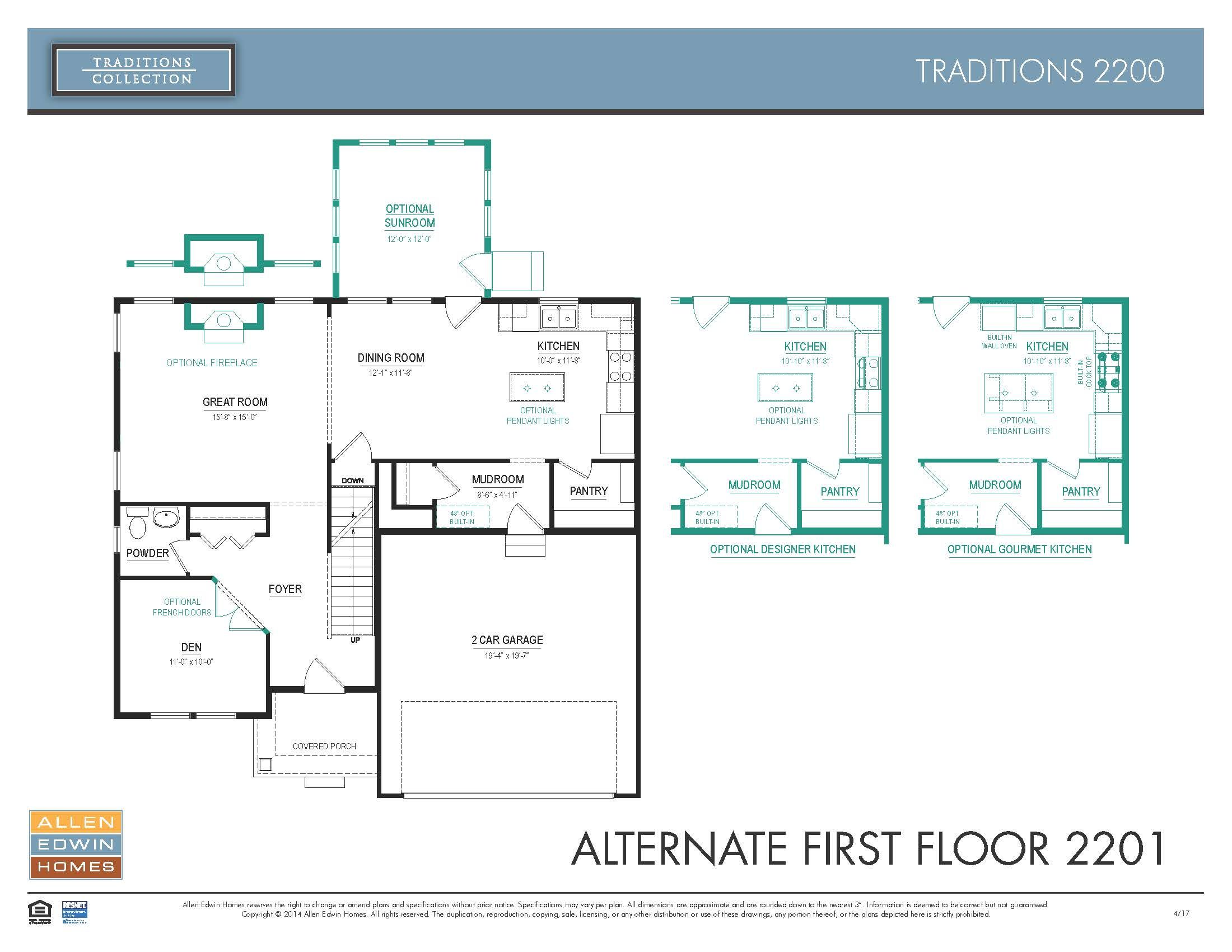 Beazer Homes Madison Floor Plan