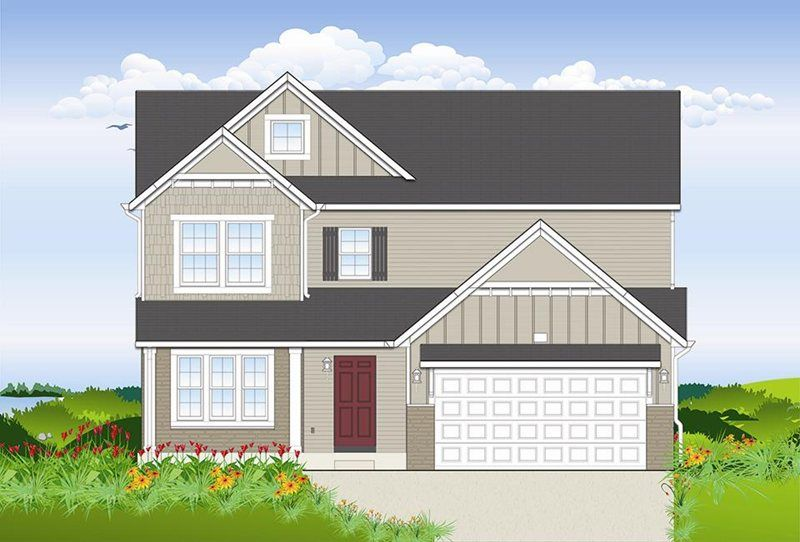 Exterior featured in the Harbor Club 2390 By Allen Edwin Homes in Kalamazoo-Battle Creek, MI