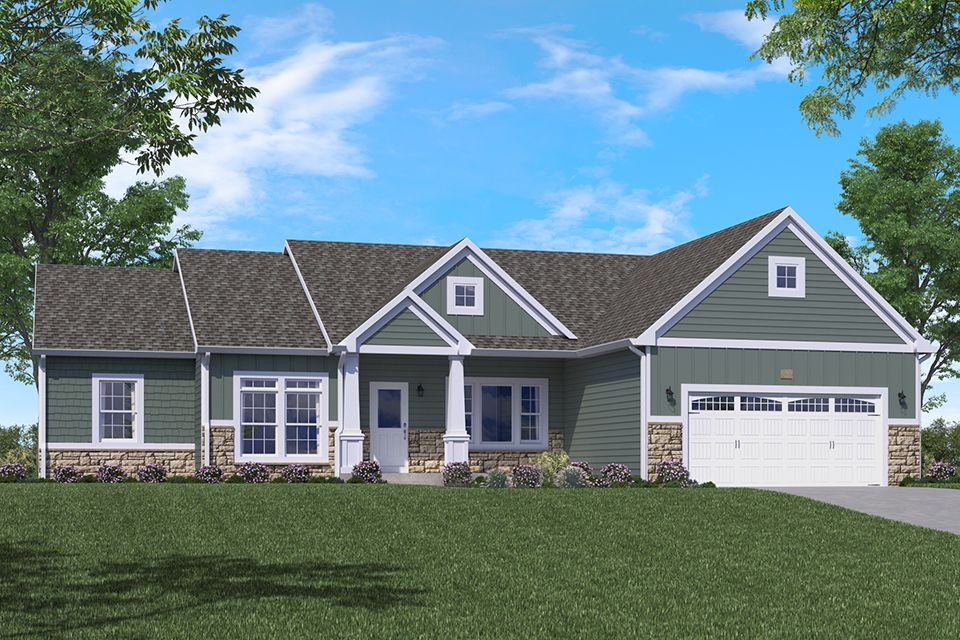 Traditions 2350 plan paw paw michigan 49079 for Zillow charlotte mi