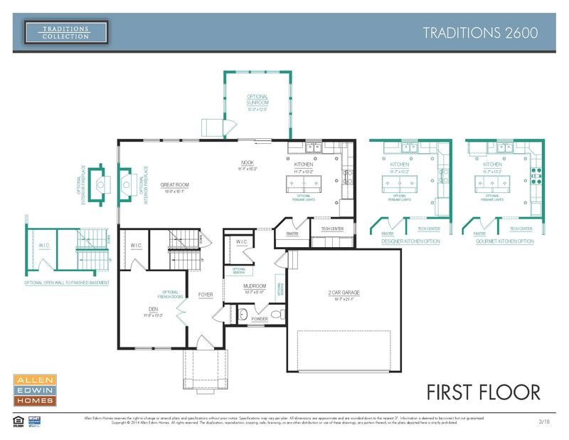 Stock floorplan