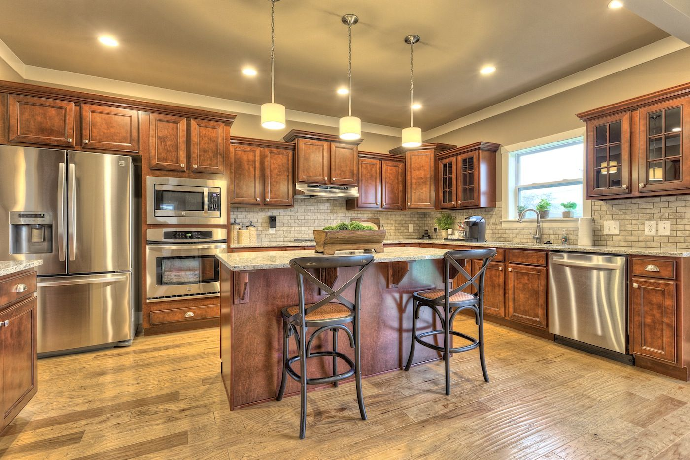 Kitchen featured in the Traditions 3100 V8.0g By Allen Edwin Homes in Benton Harbor, MI