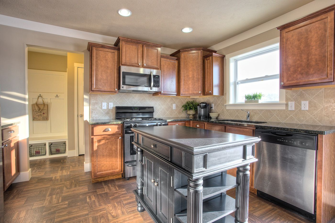 Kitchen featured in the Elements 1870 By Allen Edwin Homes in South Bend, IN