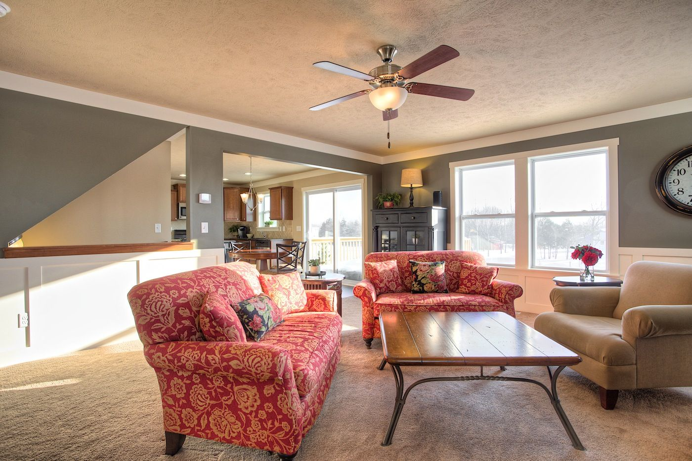 Living Area featured in the Elements 1870 By Allen Edwin Homes in South Bend, IN