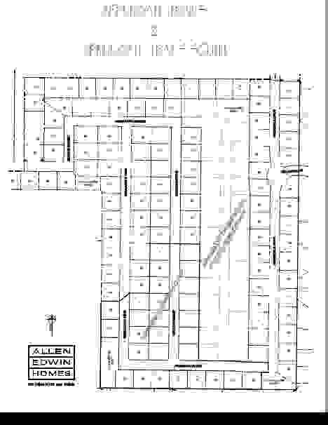 Applegate Trails Lot Map