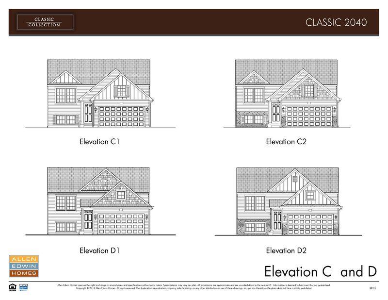 Elevations C&D