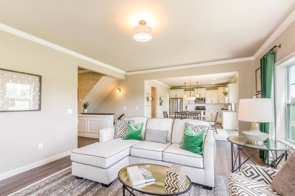 Living Area featured in the Elements 2390 By Allen Edwin Homes in Ann Arbor, MI