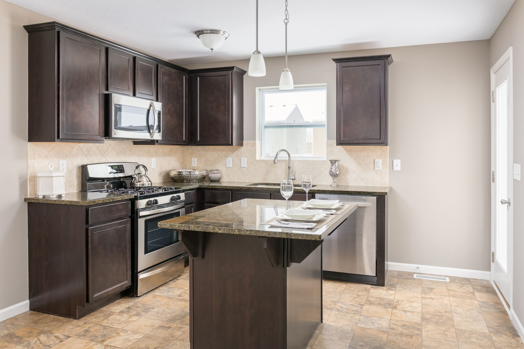 Kitchen featured in the Elements 1400 By Allen Edwin Homes in Benton Harbor, MI
