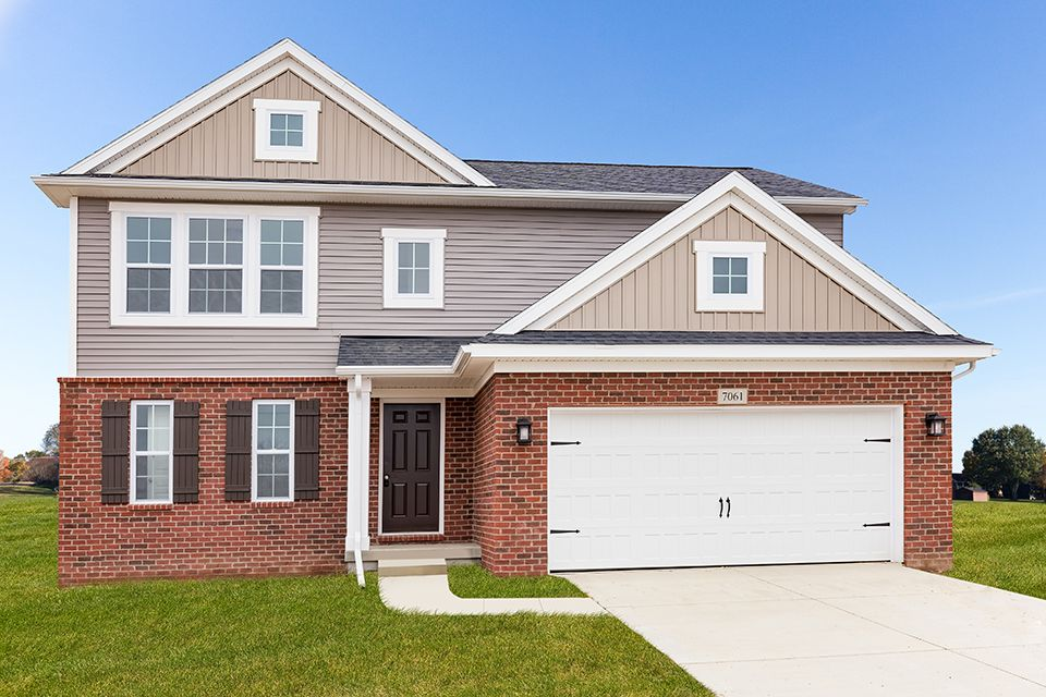 Exterior featured in the Elements 1700 By Allen Edwin Homes in South Bend, IN