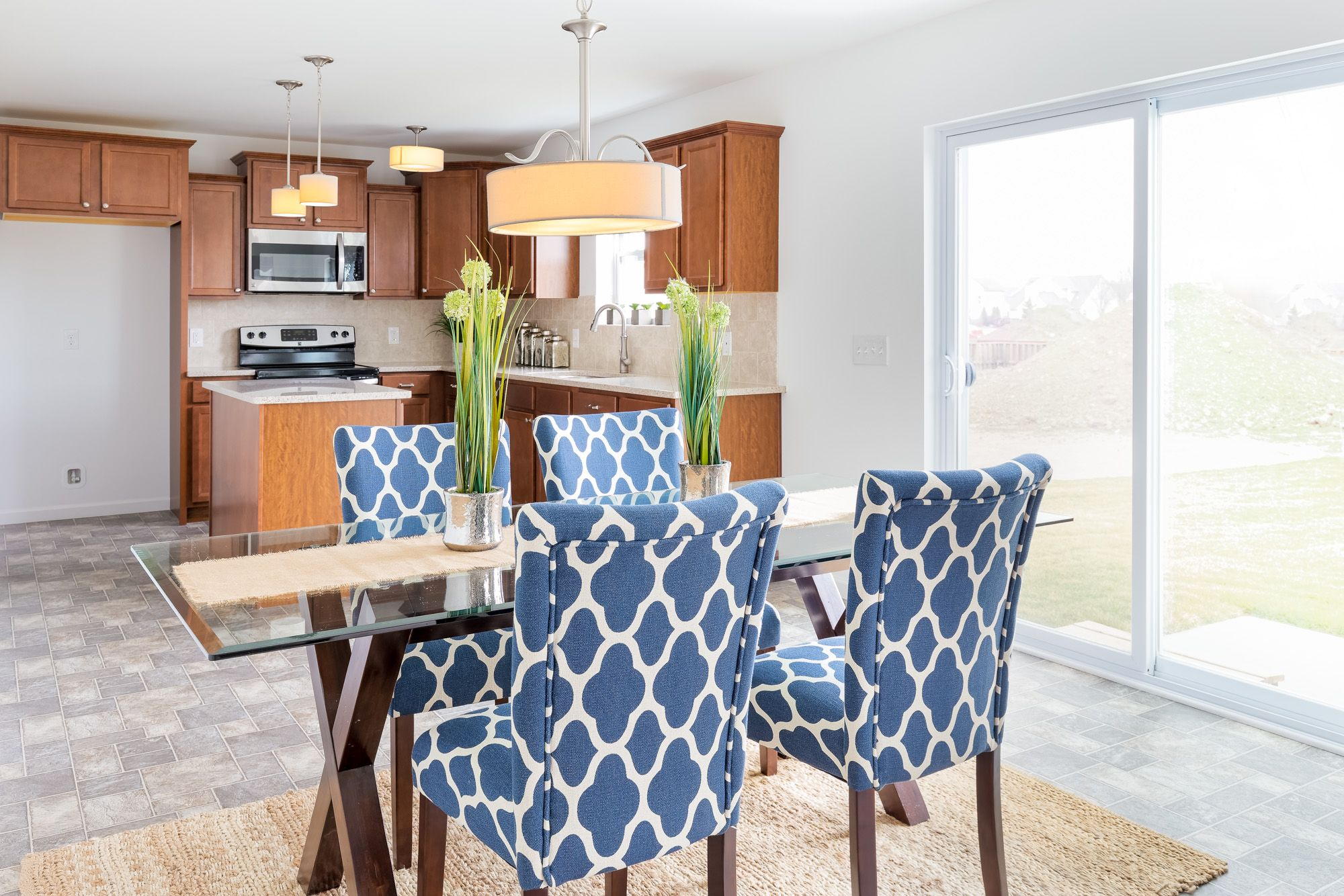 Kitchen featured in the Elements 2070 By Allen Edwin Homes in South Bend, IN