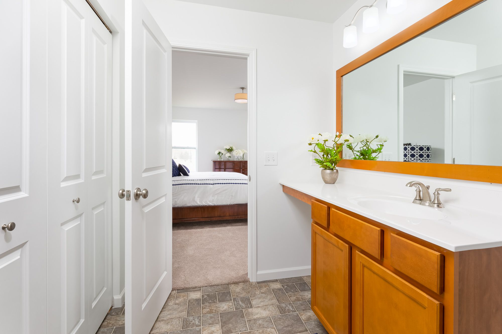 Bathroom featured in the Elements 2070 By Allen Edwin Homes in South Bend, IN