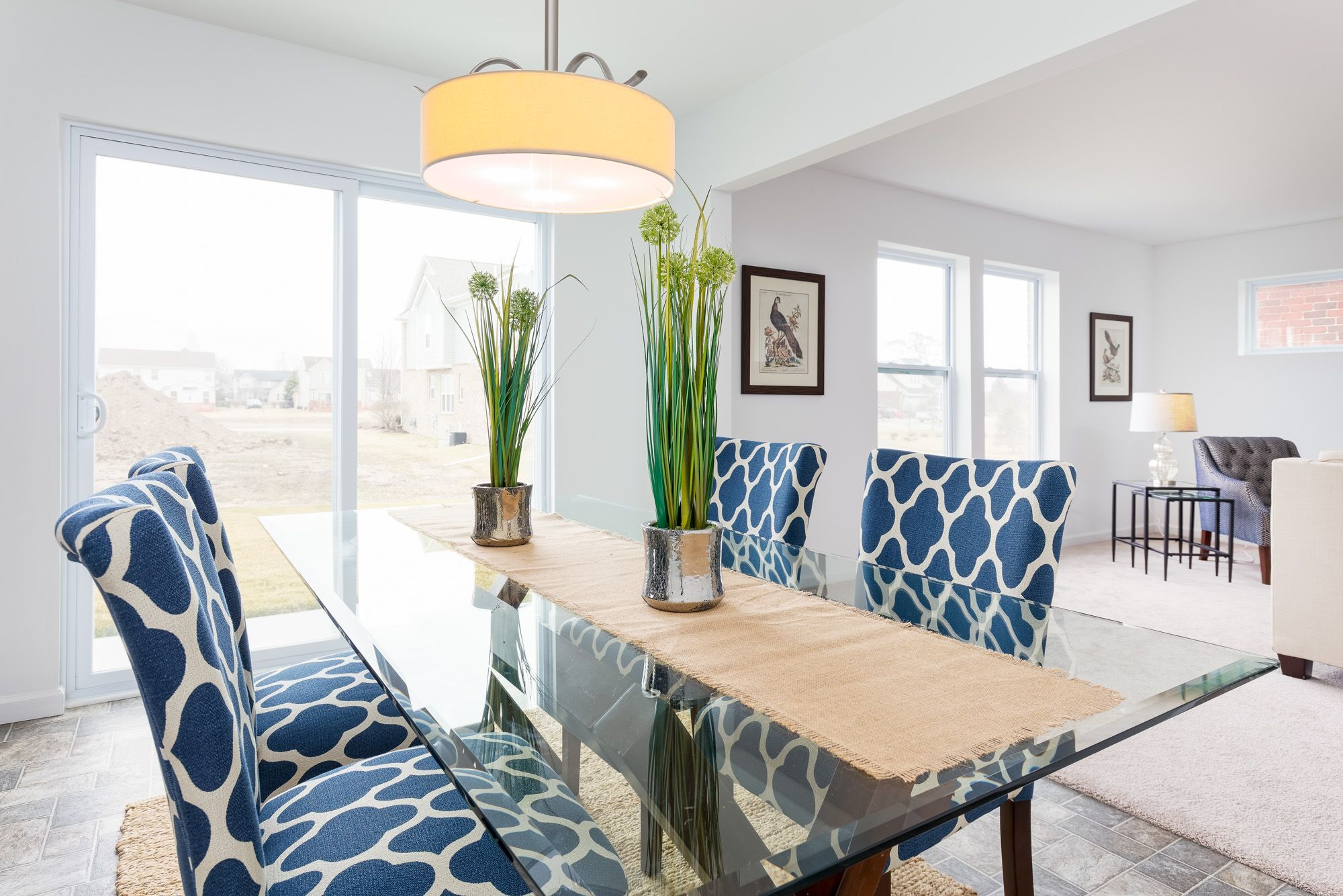 Living Area featured in the Elements 2070 By Allen Edwin Homes in South Bend, IN
