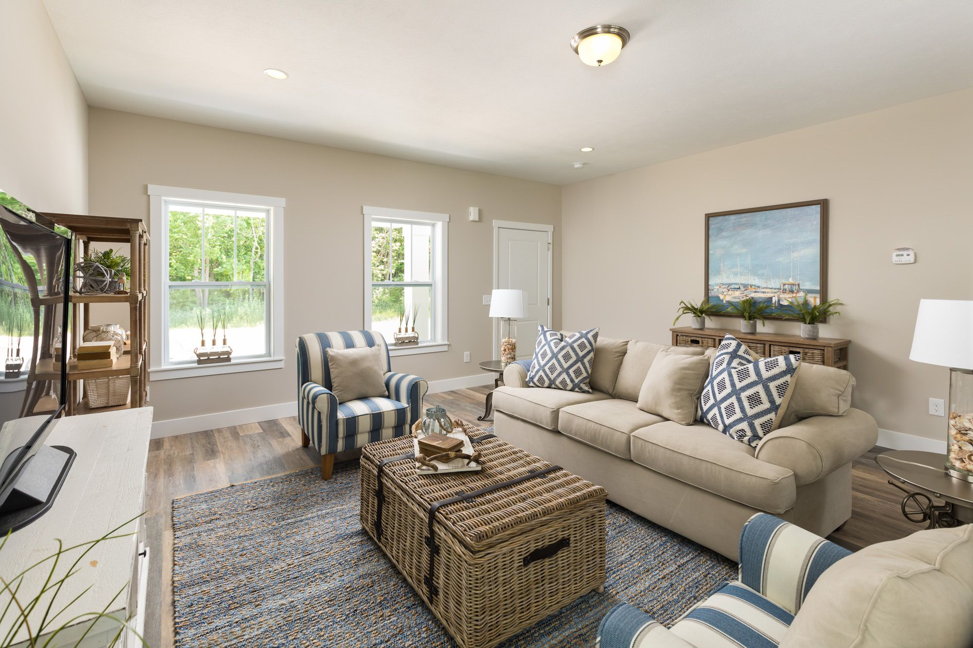 Living Area featured in the Elements 2100 By Allen Edwin Homes in Grand Rapids, MI