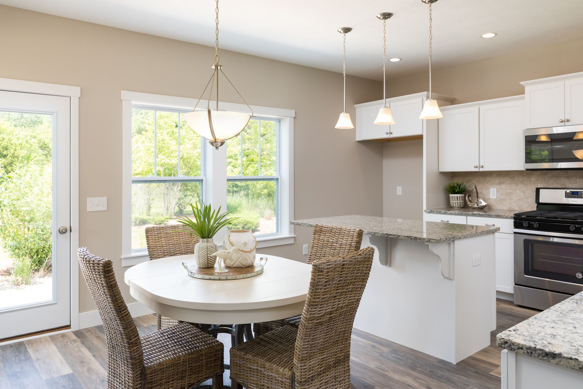 Kitchen featured in the Elements 2100 By Allen Edwin Homes in South Bend, IN