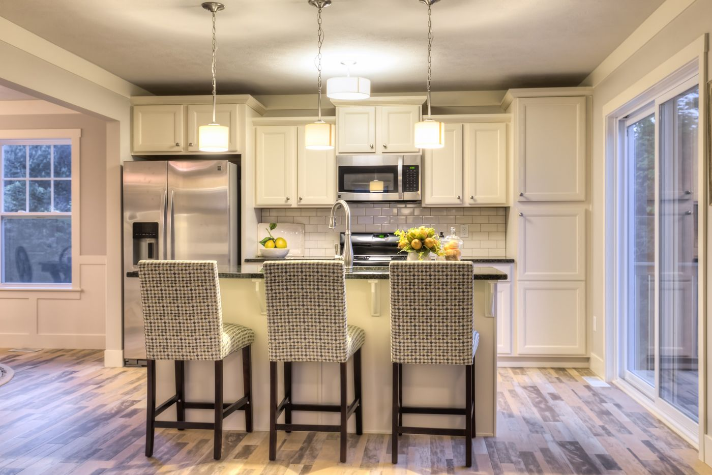 Kitchen featured in the Elements 2200 By Allen Edwin Homes in South Bend, IN