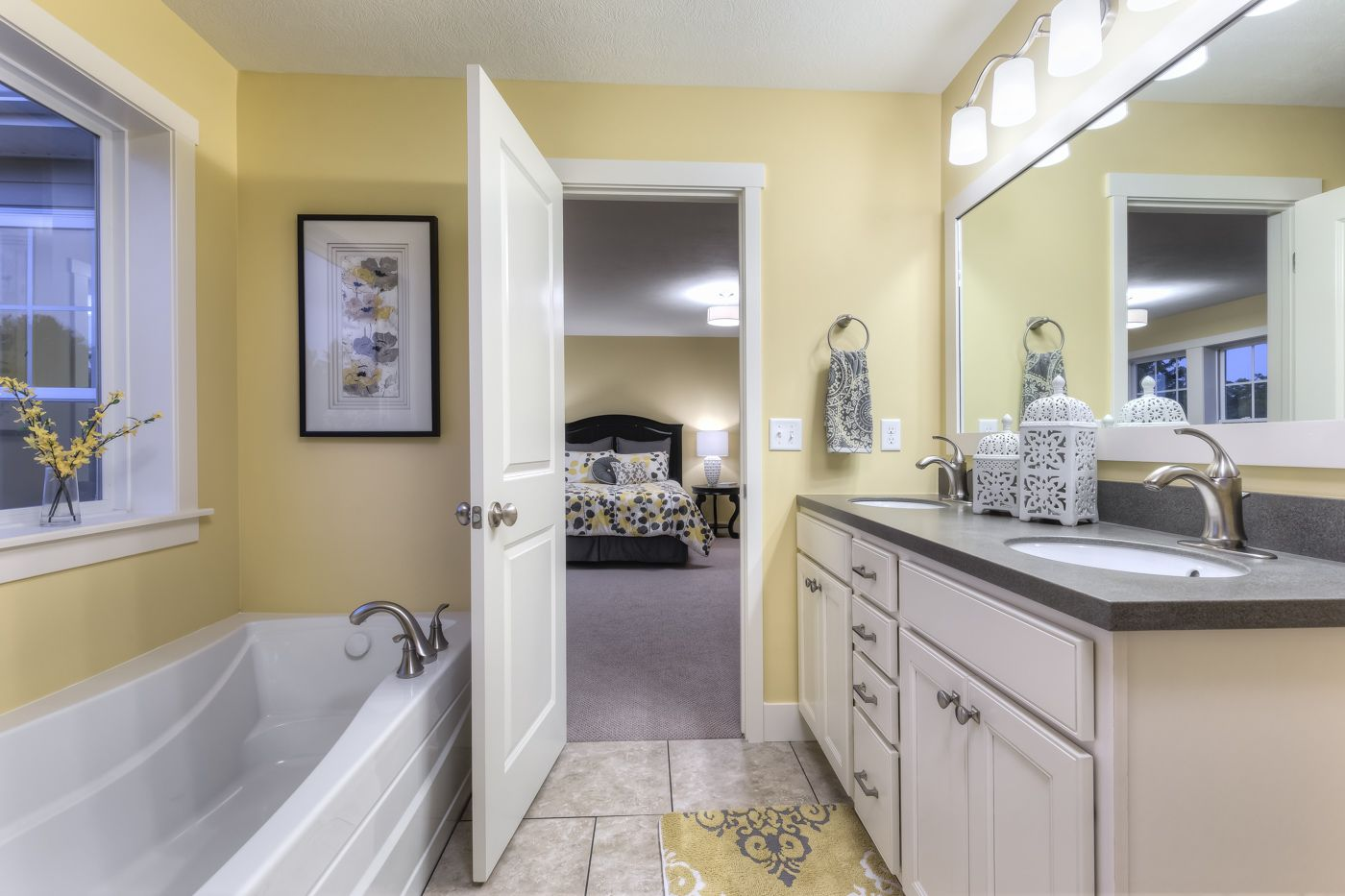 Bathroom featured in the Elements 2200 By Allen Edwin Homes in South Bend, IN