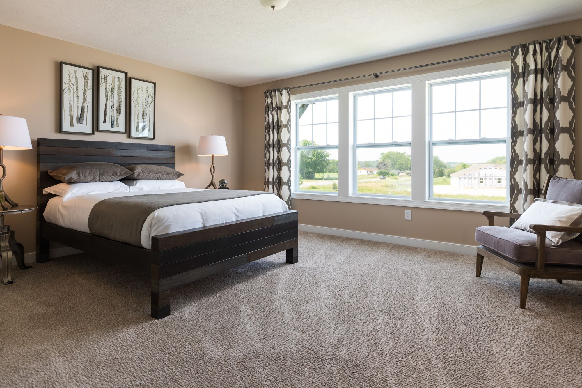 Bedroom featured in the Elements 2600 By Allen Edwin Homes in South Bend, IN