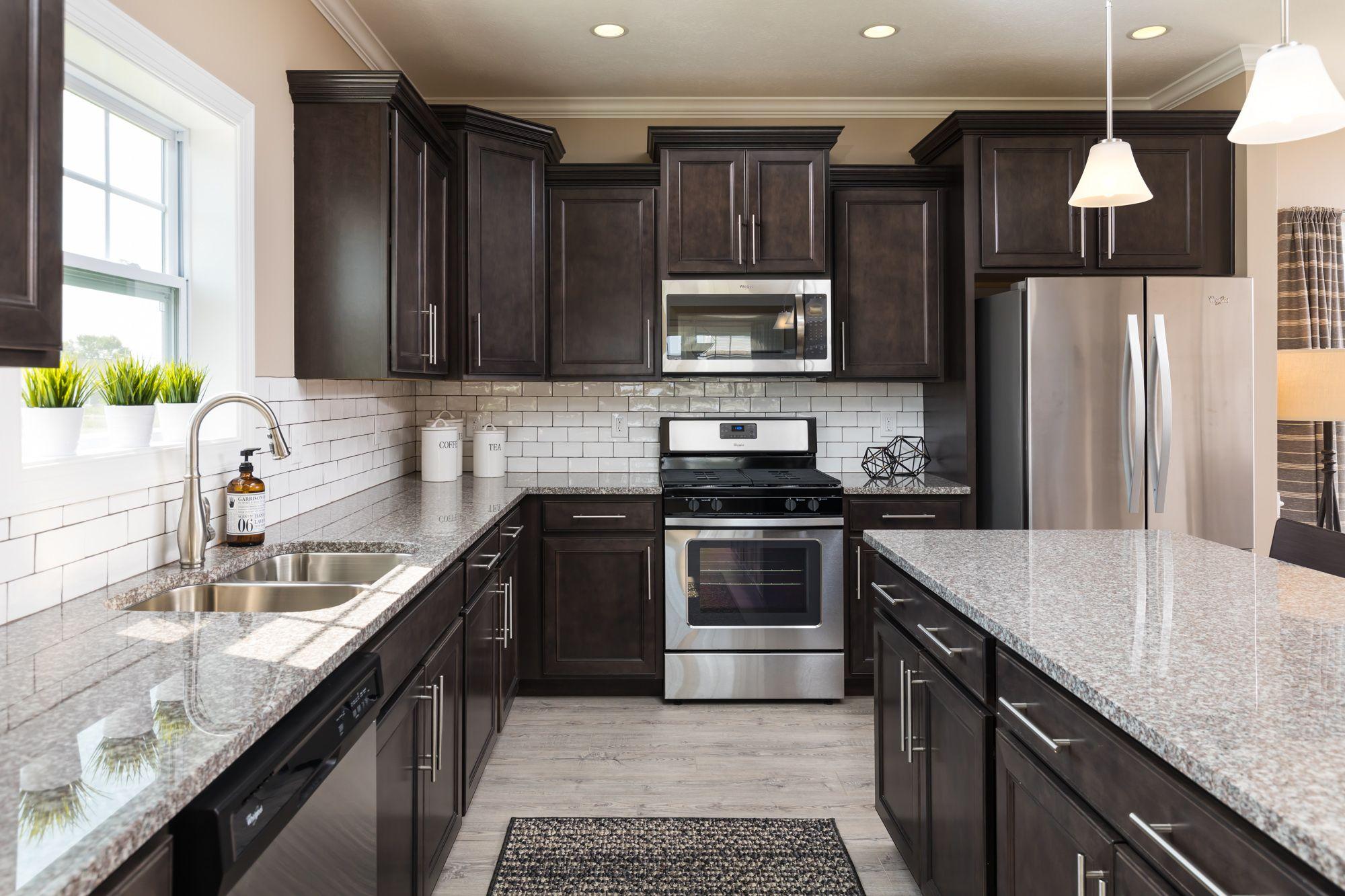 Kitchen featured in the Elements 2600 By Allen Edwin Homes in Detroit, MI