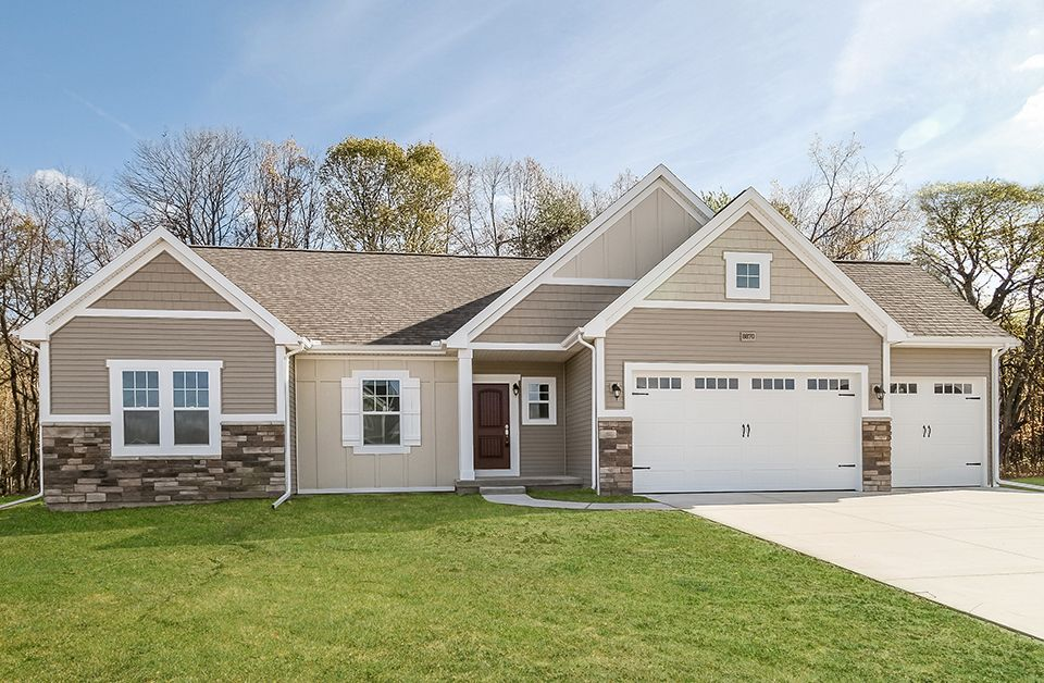 Exterior featured in the Traditions 1600 V8.0b By Allen Edwin Homes in Benton Harbor, MI