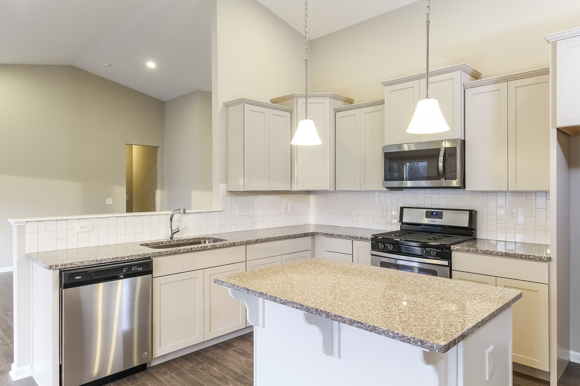 Kitchen featured in the Traditions 1600 V8.0b By Allen Edwin Homes in Benton Harbor, MI