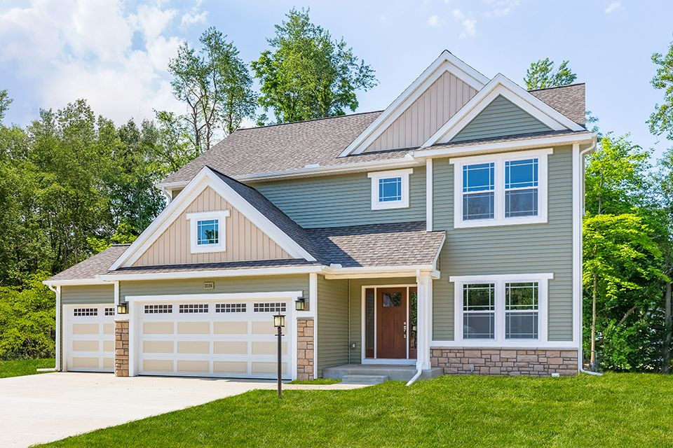 Exterior featured in the Traditions 2200 V8.0b By Allen Edwin Homes in Benton Harbor, MI