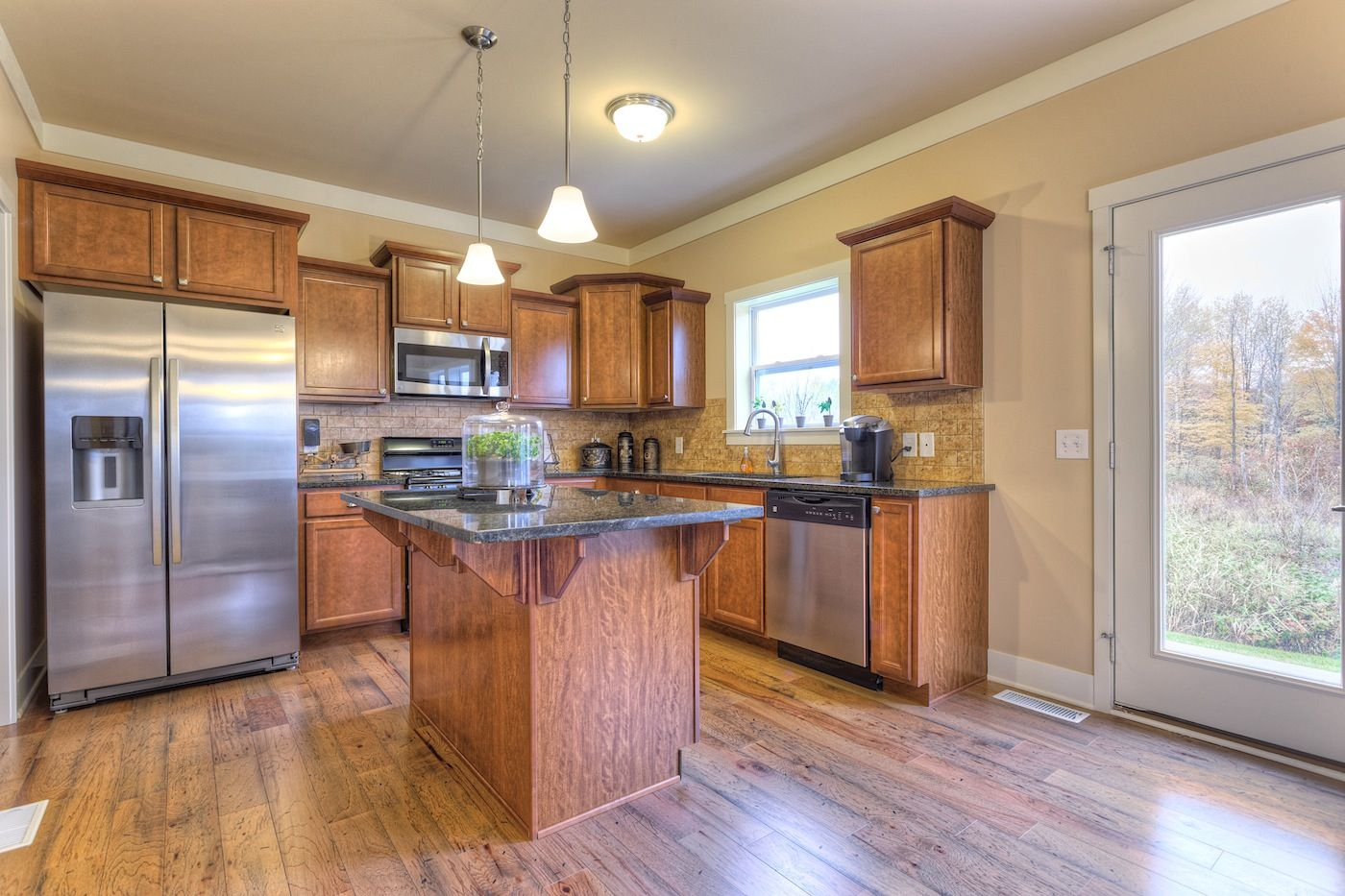 Kitchen featured in the Traditions 2200 V8.0b By Allen Edwin Homes in Elkhart-Goshen, IN