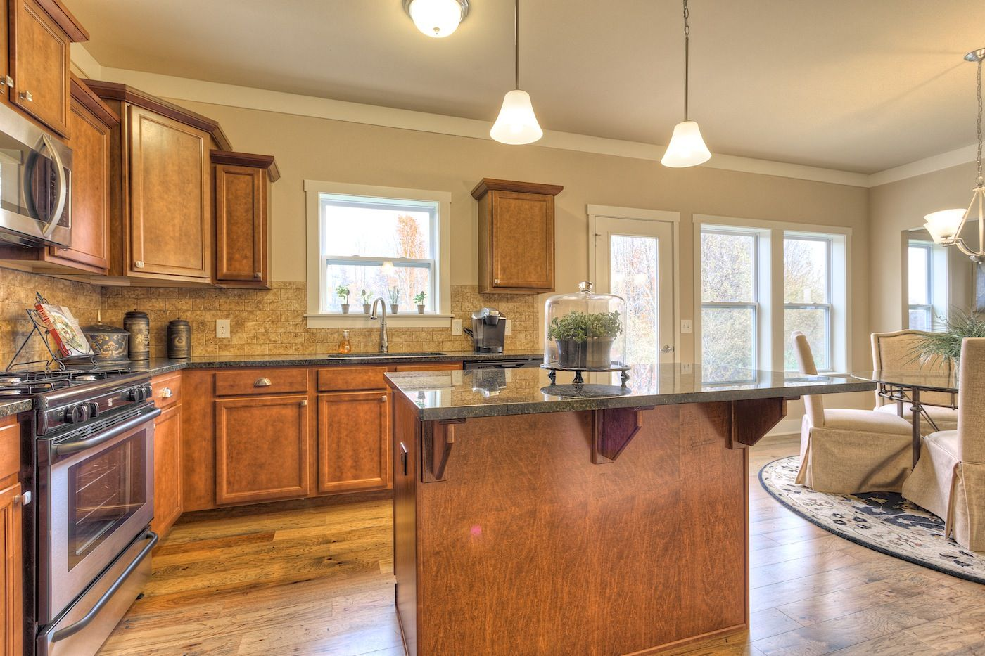 Kitchen featured in the Traditions 2200 V8.0b By Allen Edwin Homes in Flint, MI