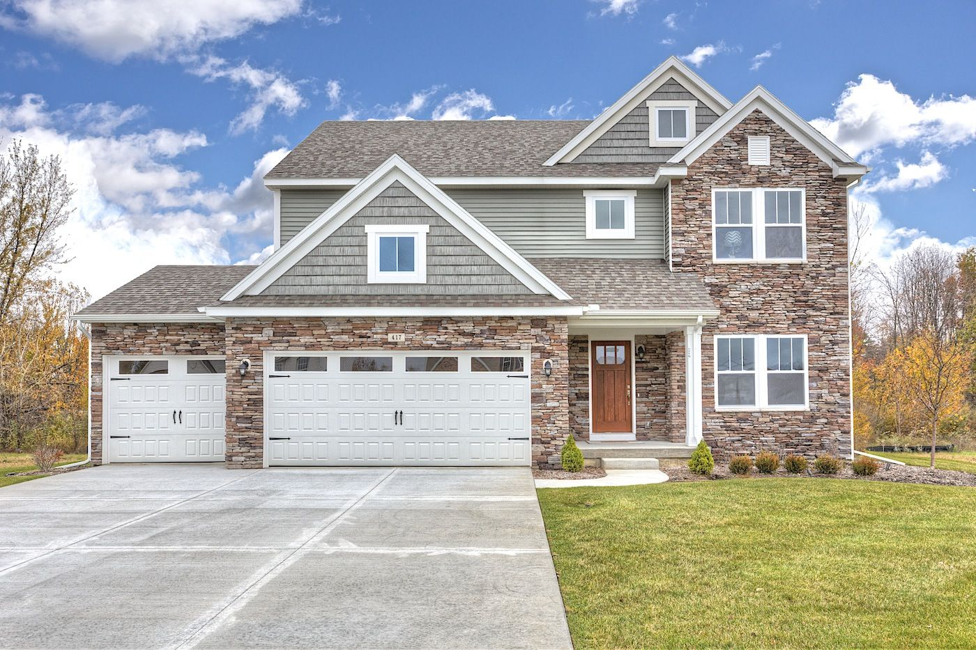 Exterior featured in the Traditions 2200 V8.0b By Allen Edwin Homes in Flint, MI