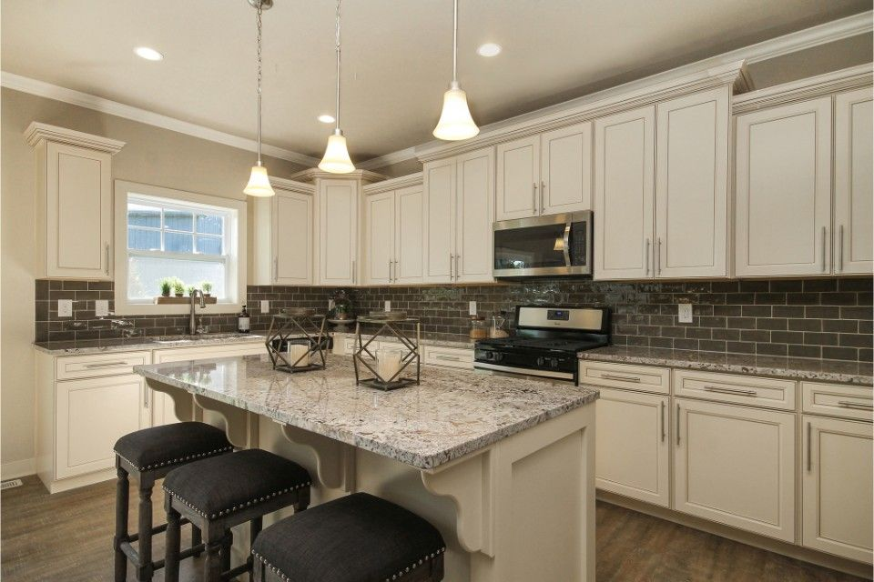 Kitchen featured in the Elements 2700 By Allen Edwin Homes in Detroit, MI