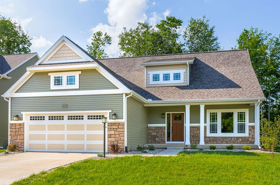 Exterior featured in the Traditions 2330 V8.0b By Allen Edwin Homes in Ann Arbor, MI