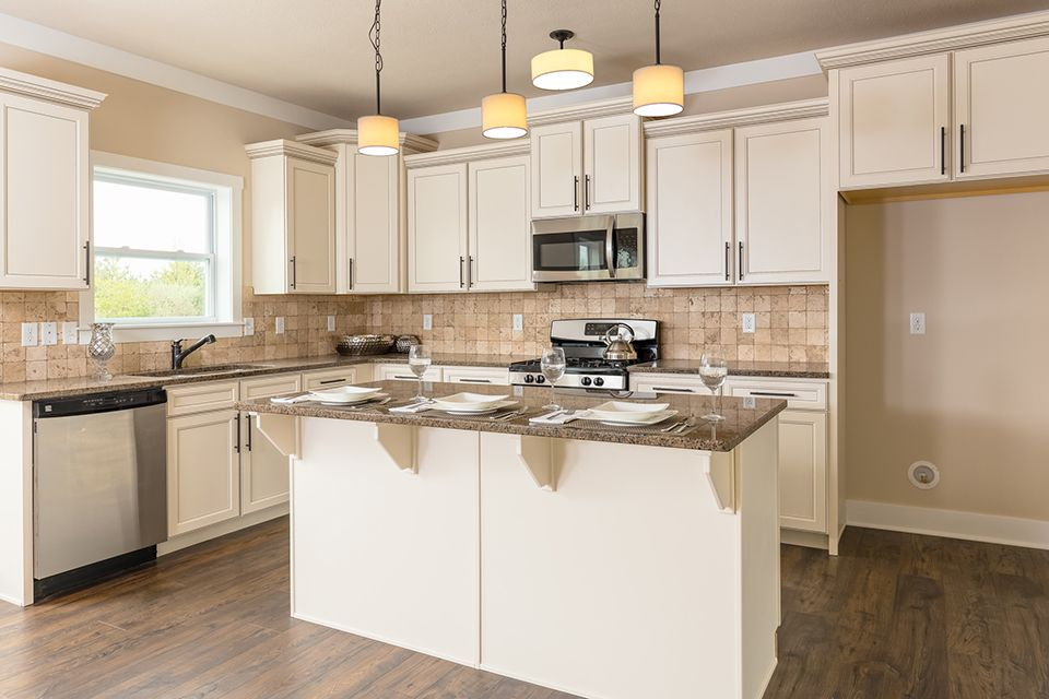 Kitchen featured in the Traditions 2330 V8.0b By Allen Edwin Homes in Elkhart-Goshen, IN