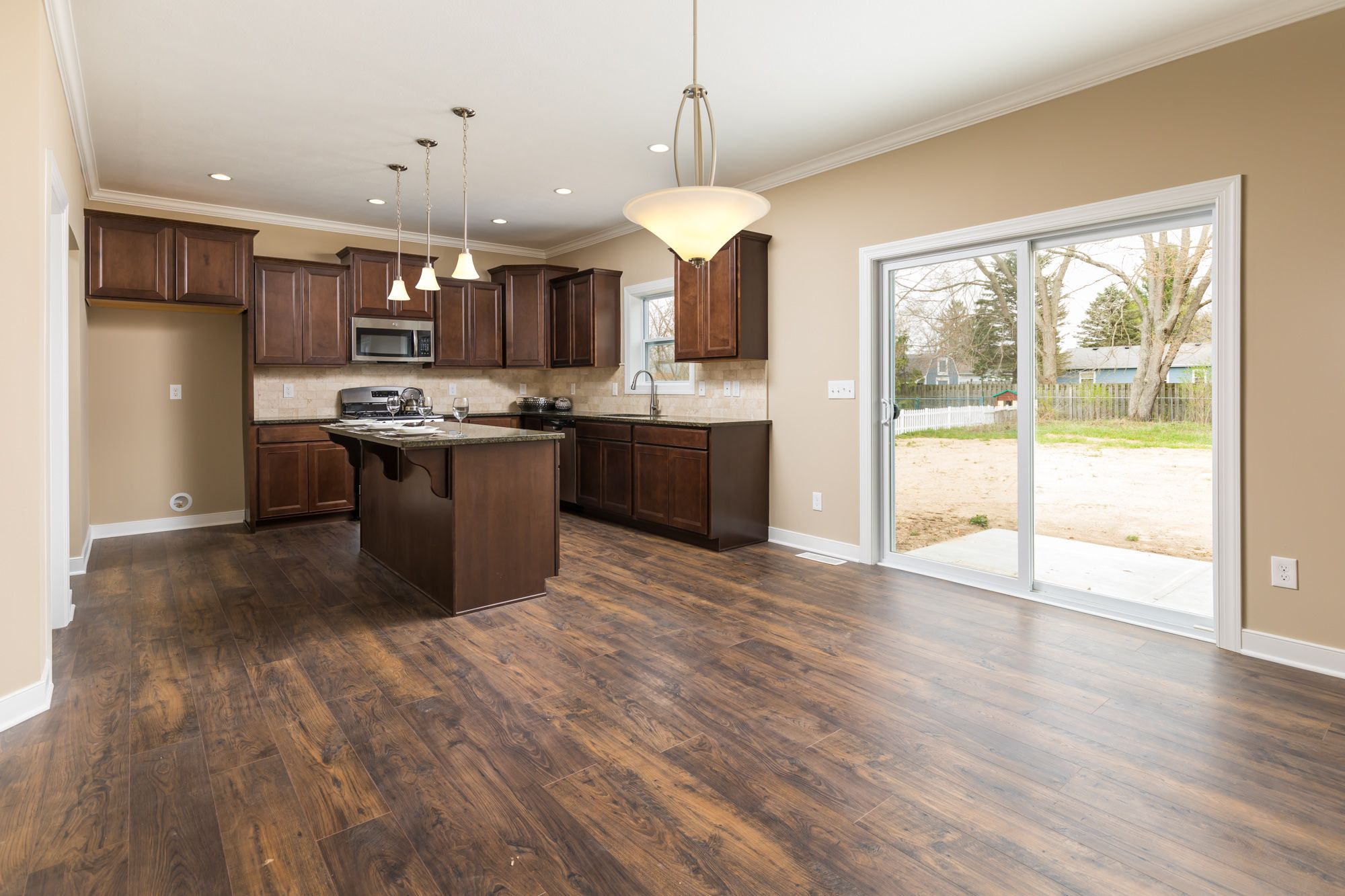 Kitchen featured in the Traditions 2600 V8.1b By Allen Edwin Homes in Elkhart-Goshen, IN