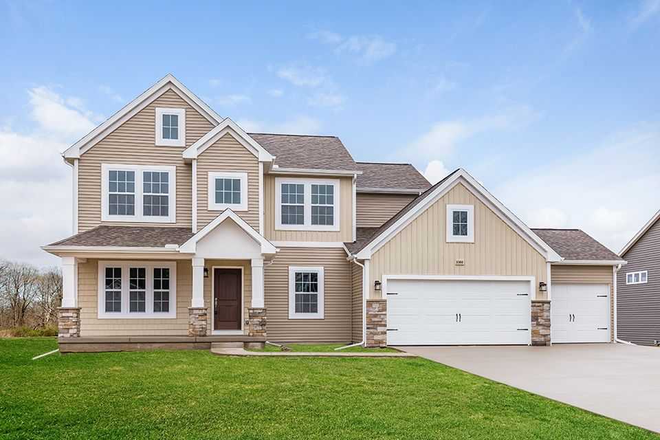 Exterior featured in the Traditions 2600 V8.1b By Allen Edwin Homes in Flint, MI