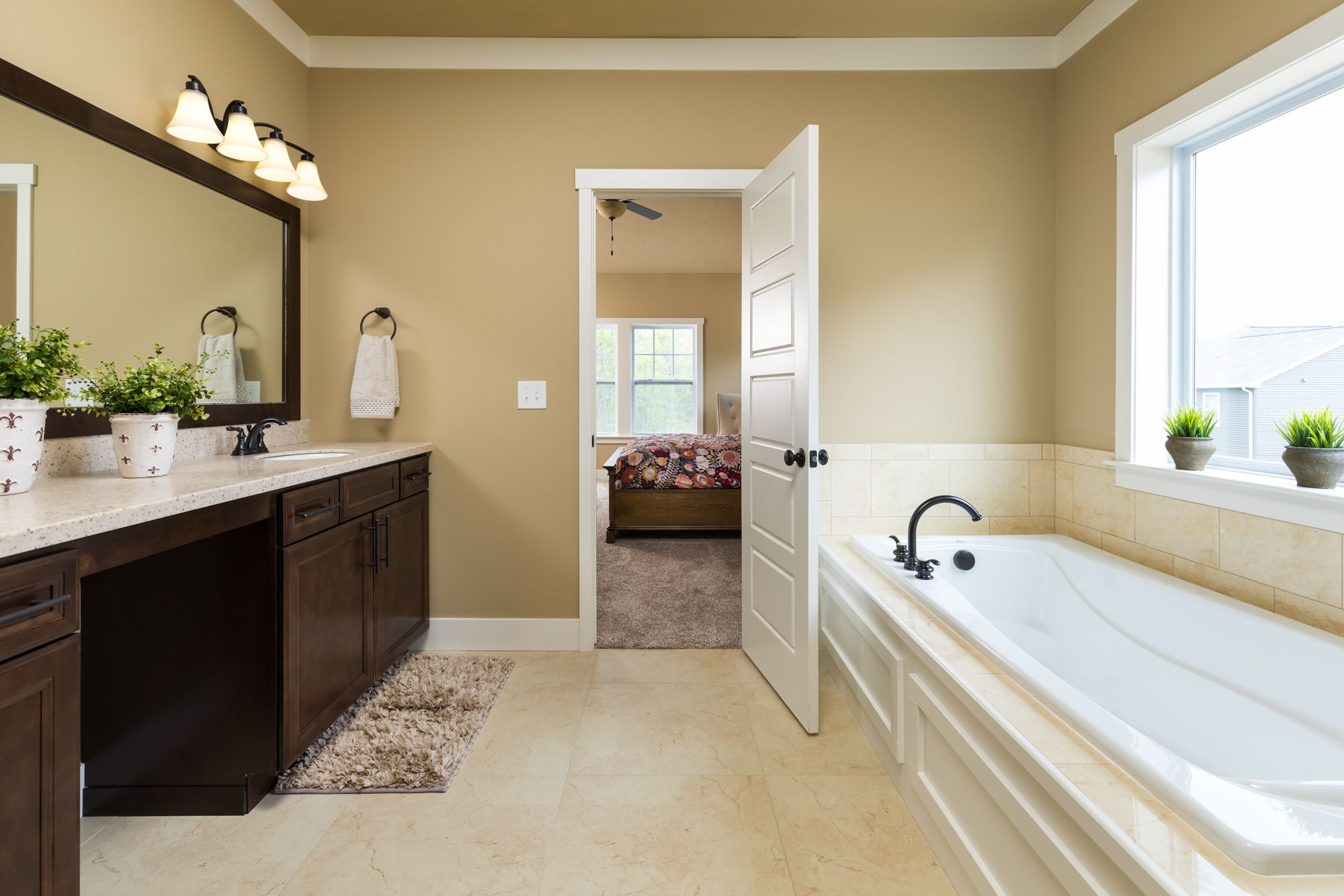 Bathroom featured in the Traditions 2900 V8.2b By Allen Edwin Homes in Ann Arbor, MI