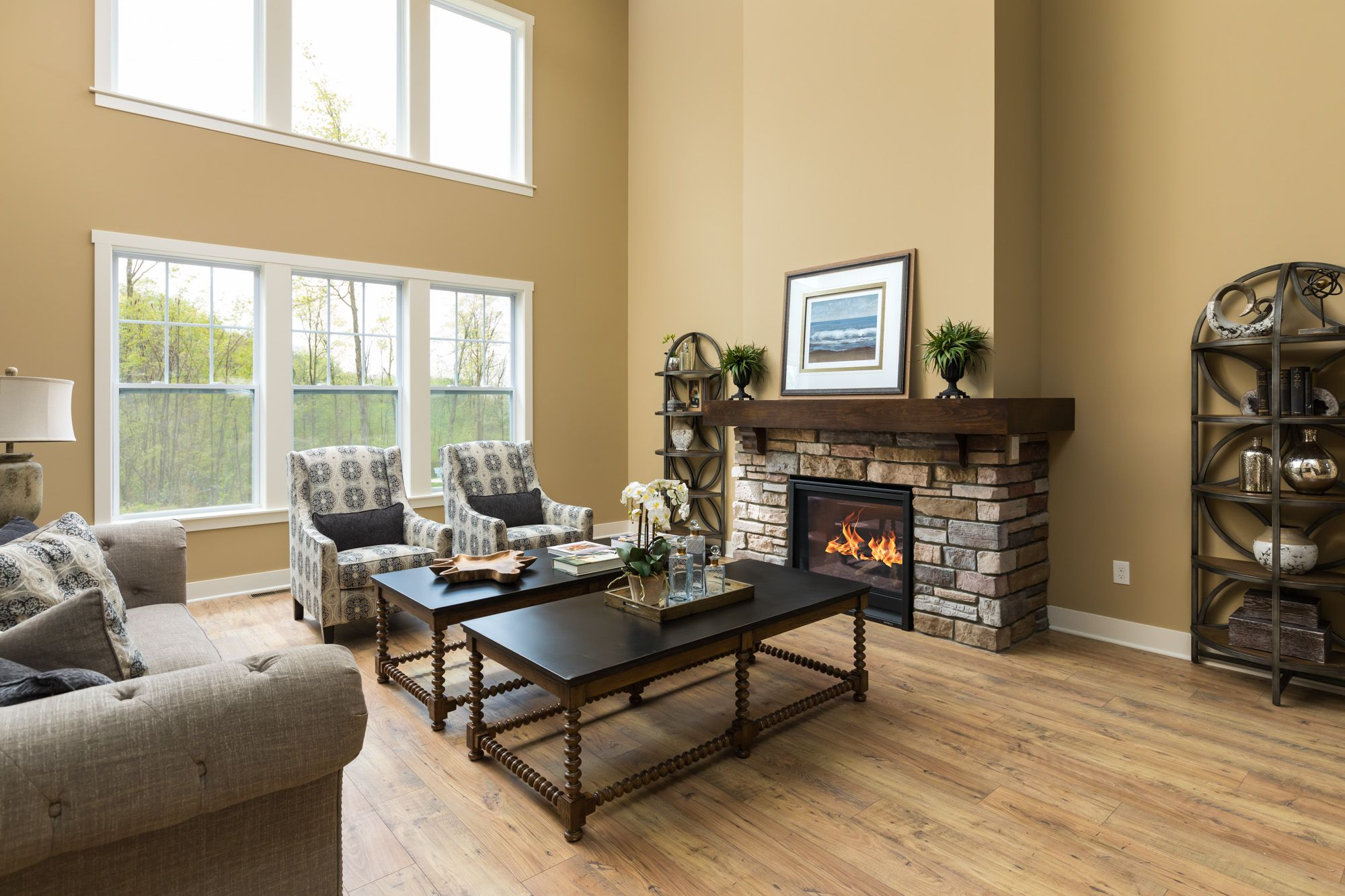 Living Area featured in the Traditions 2900 V8.2b By Allen Edwin Homes in Ann Arbor, MI