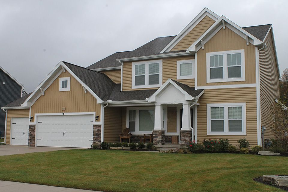 Exterior featured in the Traditions 3390 V8.2b By Allen Edwin Homes in Benton Harbor, MI