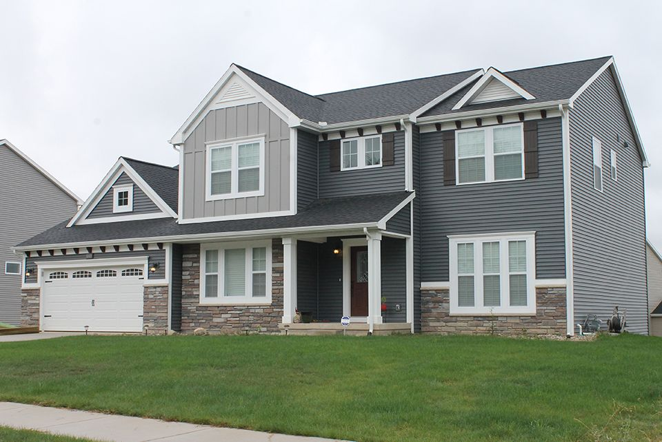 Exterior featured in the Traditions 3400 V8.0b By Allen Edwin Homes in South Bend, IN