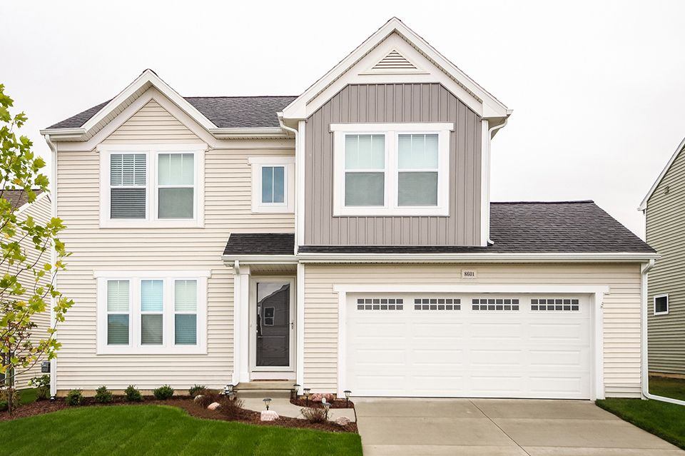 Exterior featured in the Elements 1680 By Allen Edwin Homes in South Bend, IN