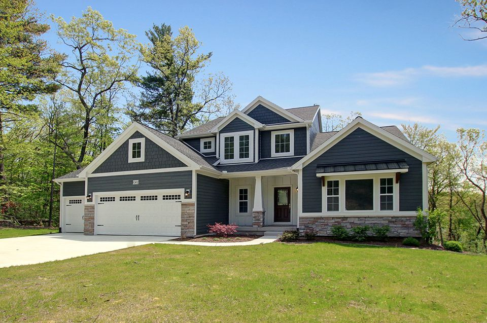 Exterior featured in the Traditions 2900 V8.2b By Allen Edwin Homes in Ann Arbor, MI
