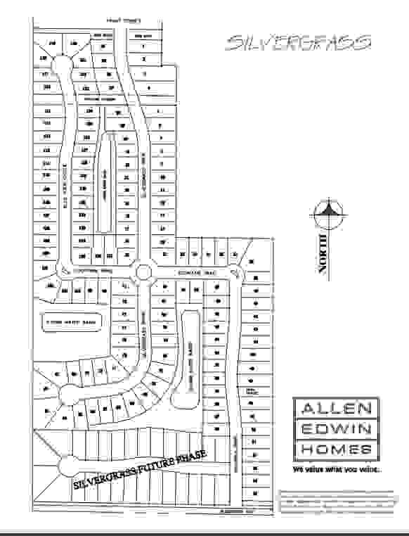 Silvergrass Lot Map