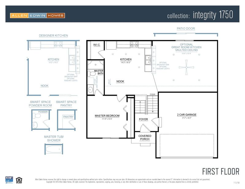 Homes Of Integrity Floor Plans: Integrity 1750 Home Plan By Allen Edwin Homes In