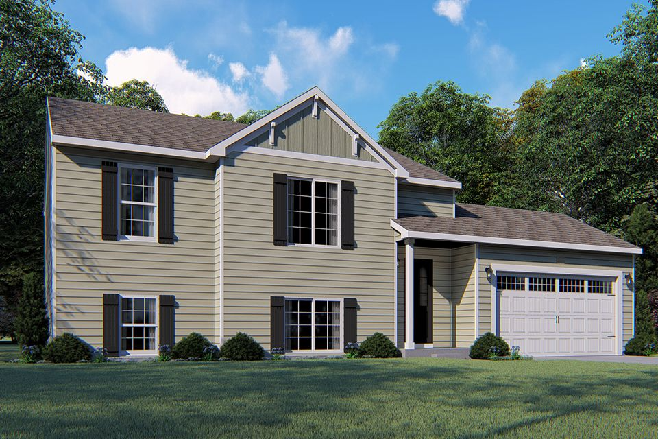 Exterior featured in the Integrity 2190 By Allen Edwin Homes in Kalamazoo-Battle Creek, MI