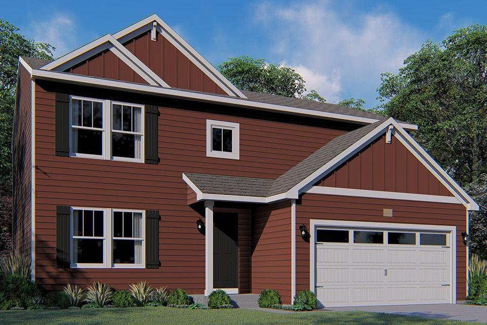 Exterior featured in the Integrity 2000 By Allen Edwin Homes in Kalamazoo-Battle Creek, MI