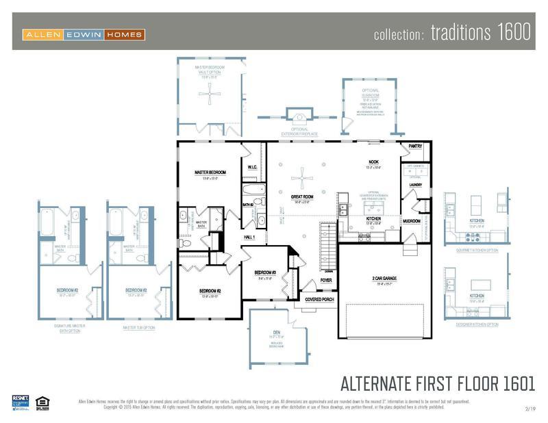 Alternate First Floor