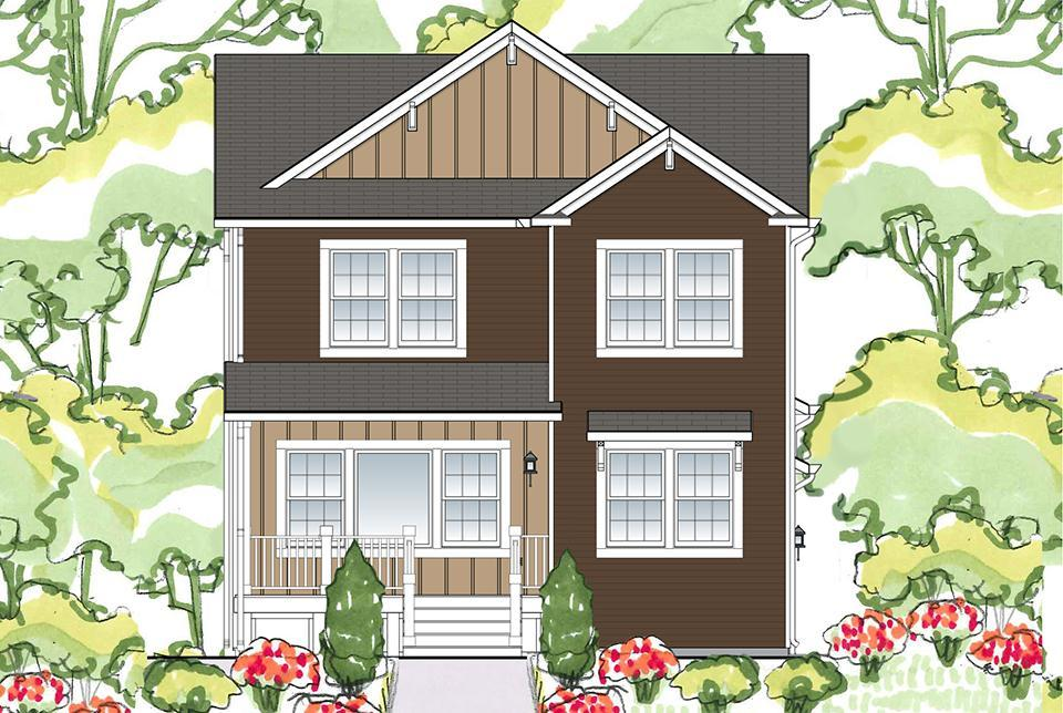 Exterior featured in the Knollwood 1891 By Allen Edwin Homes in Grand Rapids, MI